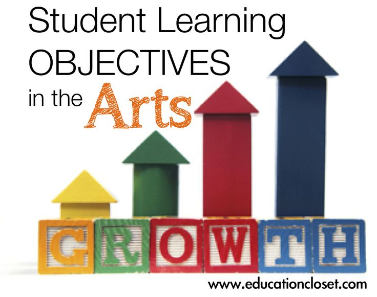 Student Learning Objectives (#SLO) in the #Arts - great information about what they are and how to use them effectively.  From www.educationcloset.com
