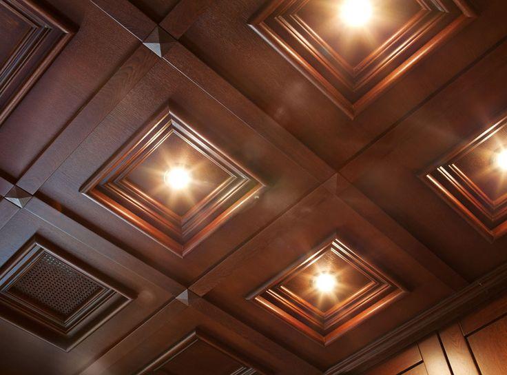 Деревянные подвесные потолки. Купить или заказать деревянные потолки в Запорожье. Цена, фото, каталог