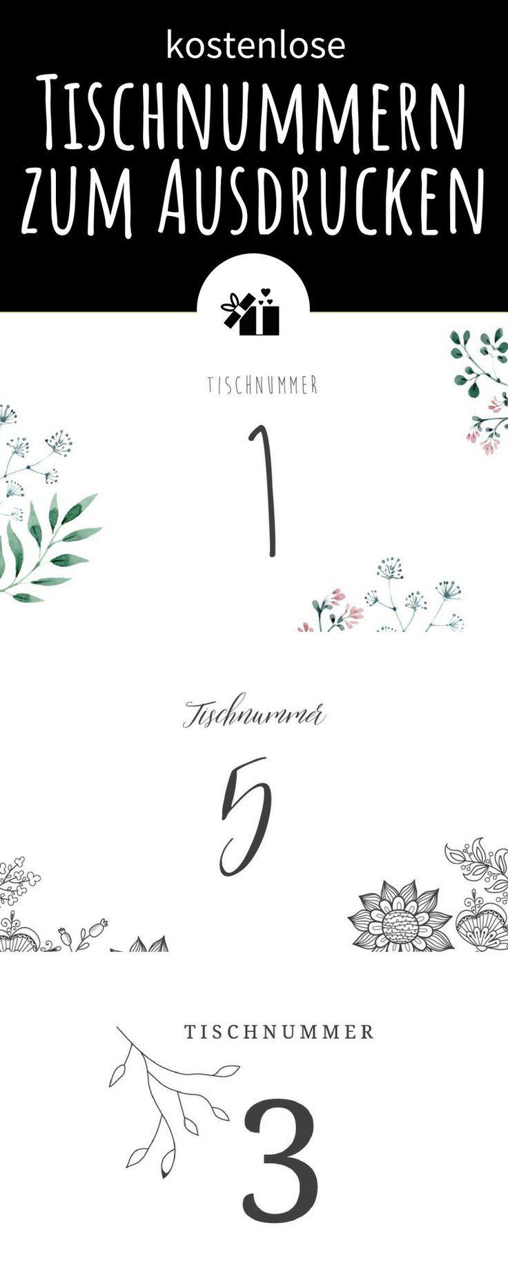 Hochzeitsschilder zum Ausdrucken: kostenlose PDF-Vorlagen in 3 Designs