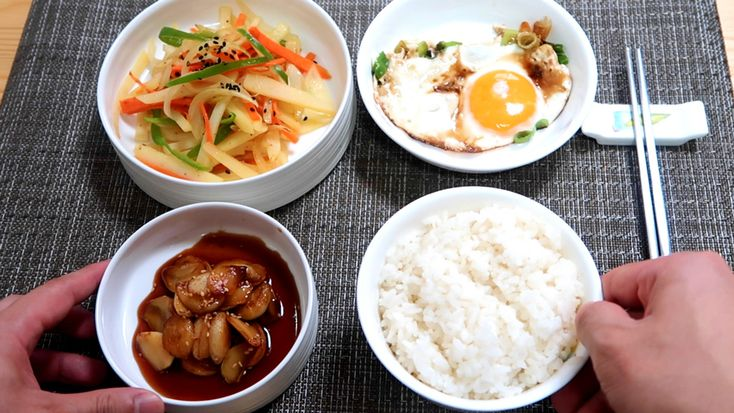 Breakfast Banchan for those who love to eat rice in the morning