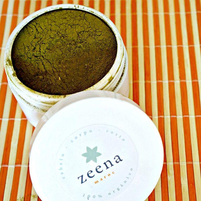 Henna ZEENA receita mistura de preparação da Henna para o ruivo alaranjado