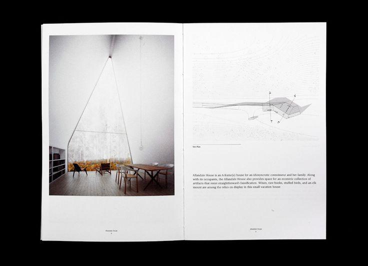 William O'Brien Jr. Architecture, Portfolio Book on Behance