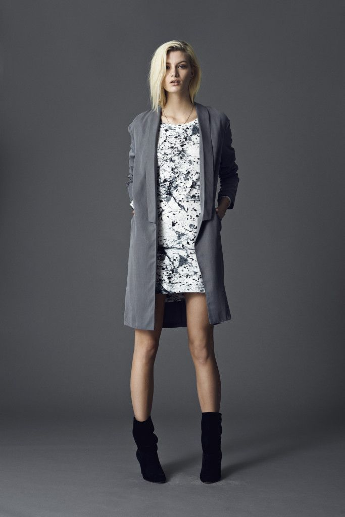 Lookbook winter 2014  TITIANA TAHIRA / DRESS THAI TITH  www.promocionmoda.com/mbyM  #dress #Lookbook #aw14 #mbyM #newarrival #ootd #promocionmoda #moda
