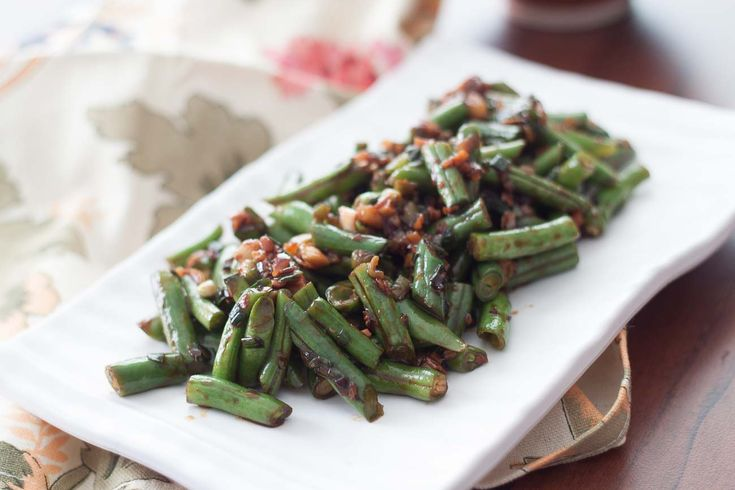 Green Beans Chinese style? You must try this delicious Sichuan Style ...