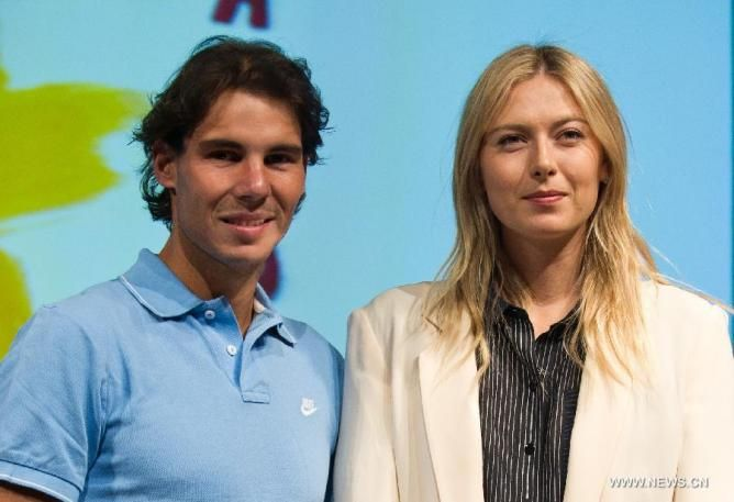 Maria Sharapova Better Than Rafael Nadal on Social Media!
