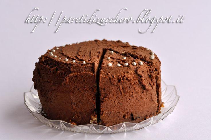 Pareti di Zucchero: White Velvet ai mirtilli e cioccolato