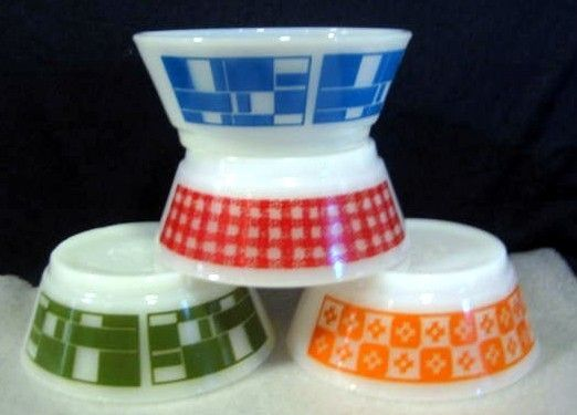 Gotta have colorful Pyrex!