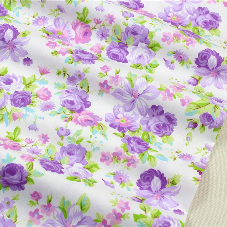 1591481 , 50cm*150cm flowers Series cotton fabric,diy handmade patchwork cotton cloth home textile Free shipping