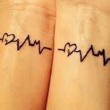Image result for matching tattoos for best friend