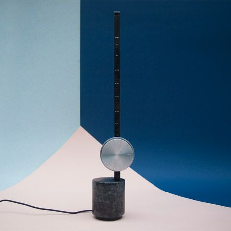Radio Activity by Gemma Rope. device selects tracks from online music provider Spotify based on their tempo, which can be adjusted by sliding its circular aluminium dial up and down a vertical pole.r