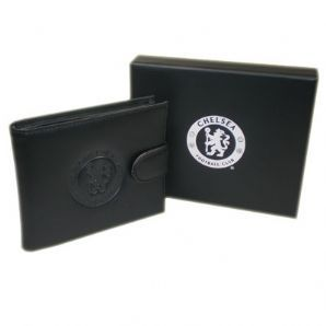 Chelsea Embossed Leather Wallet   Chelsea FC Gifts Shop