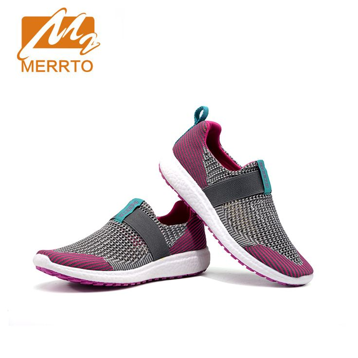 MERRTO 2016 New Brand Summer Outdoor Shoes Breathable Mesh Women Shoes Lightweight Running Shoes  Travel Sneakers #MT18606