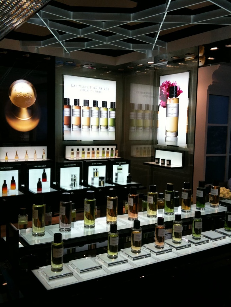 Dior Perfume boutique at Selfridges
