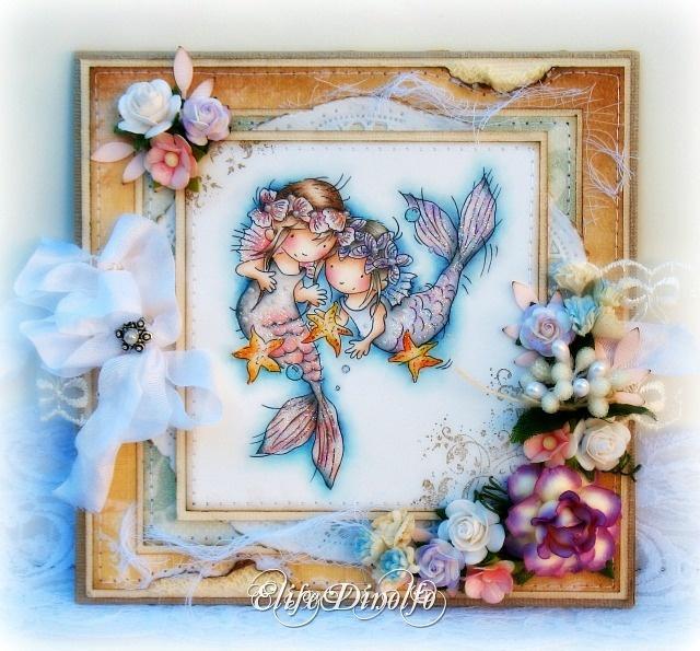 LOTV - Little Mermaid Friends - http://www.liliofthevalley.co.uk/acatalog/Stamp_-_Little_Mermaid_Friends.html