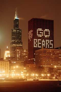 The start of football should be counted as a holiday. Go Bears! #Chicago #Searstower #willistower