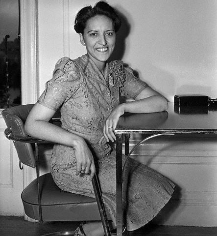 """Jane M. Bolin was the first Black woman graduate of Yale Law School and the first Black woman in the United States to become a judge. She is pictured here in July 1939, shortly after her appointment by New York City mayor Fiorello H. La Guardia, which made news all over the world. Judge Bolin retired in 1979 after 40 years as a judge - but only because she had reached the mandatory retirement age of 70. She died at age 98 in 2007."""