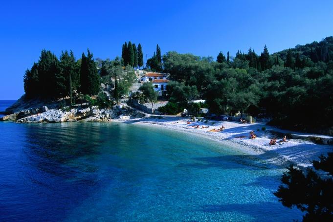 Loggos beach   Paxos, Greece