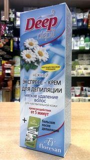 Крем-депилятор купить в СПб: Экспресс Крем для депиляций Floresan Deep depil, С...