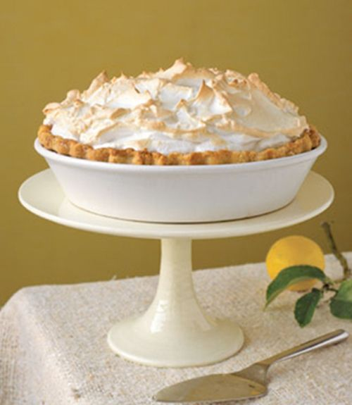 Introduce lemons to sugar and serve up sweetness and light. Recipe: Lemon Meringue Pie   - TownandCountryMag.com