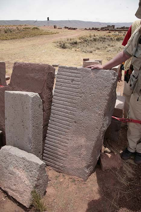 Machined stones Ancient Technology Lost Knoweldge of Pumapunku « UFO-Contact News