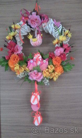Výroba dekoratívnych predmetov (venčekov.ikebán,aranžovanie) - 1