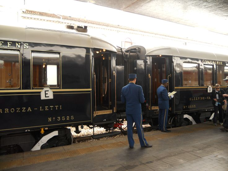 The Orient Express in Venice S. Lucia Train Station
