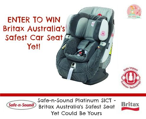 I've Just Entered To Win Australia's Safest Car Seat - Have You?