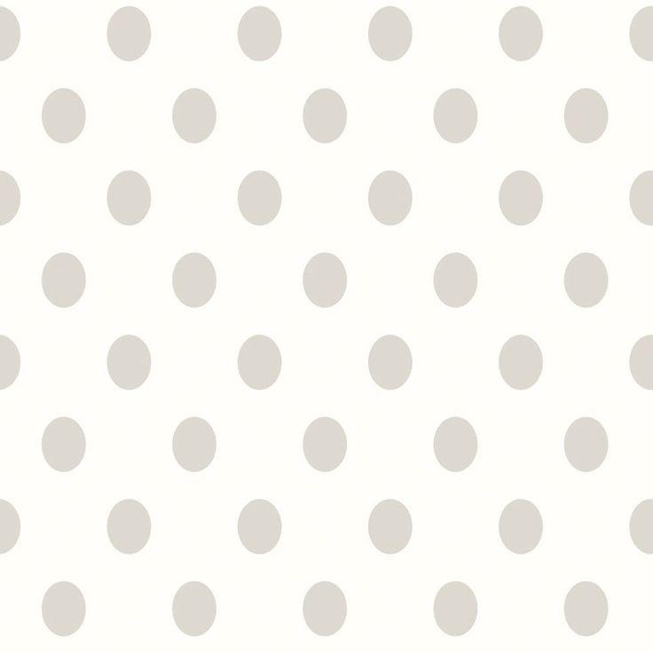 graue Kreismuster zeigt die 2252-38 Schöner Wohnen 3 Vliestapete von livingwalls. Diese Kollektion ist durch Ihre modernen, zeitgemäßen Tapeten bekannt