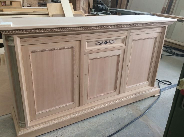 Sideboard in cherry wood by arvestyle