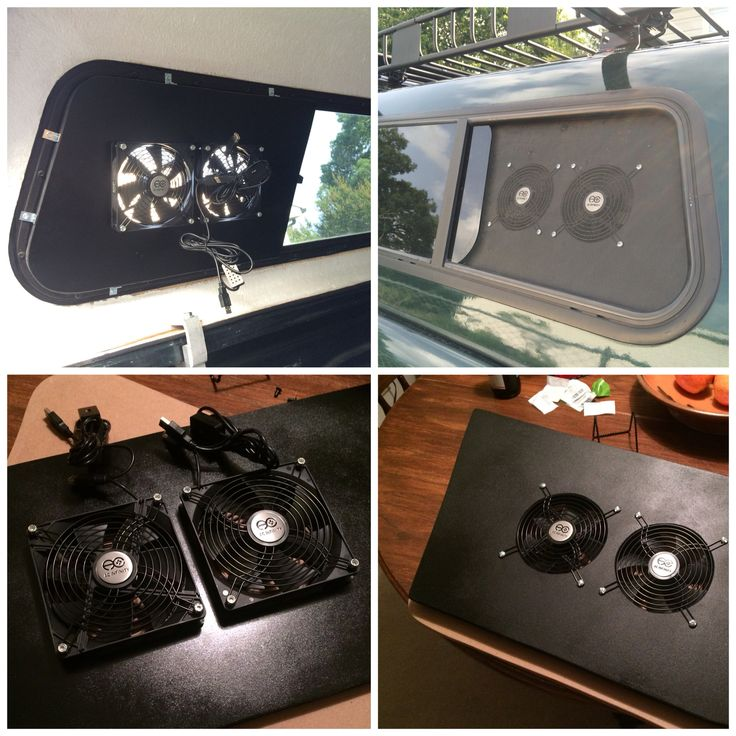 Custom camper top vent. Made for camping in your truck. Painted MDF with two muffin fans (ordered from Amazon). USB connection. Very low wattage and can be powered by an external cell phone battery if no electricity available. #muffinfan #truckcamping