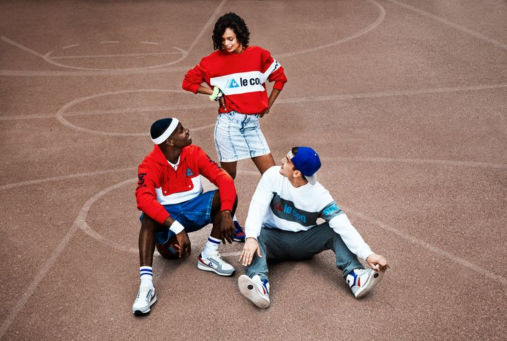 IN THE LATE 80'S, LE COQ SPORTIF APPEARS ON THE EAST COAST KIDS WITH COLLECTIONS DEVELOPED EXCLUSIVELY FOR THE US STORES. TRACKSUITS AND CARDIGANS, FRESH AND COLORED LOOK, THE FRENCH BRAND ADORNS 80S AND 90S HIP HOP BIG NAMES, FROM LL COOL J IN THE MUSIC CLIP OF THE SEXY I NEED LOVE, TO BIG DADDY KANE OR DJ JAZZY JEFF AND THE FRESH PRINCE.  http://lecoqsportif.tumblr.com