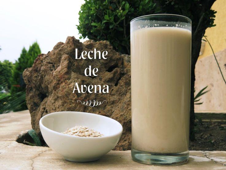 Leche de Avena casera.