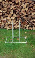 Sägebock Für Kettensäge, Metallsägebock, für Motorsäge, Kettensägebock, Kaminholz: Sägebock-Kettensäge-Holzsägebock-Sägegestell-Holz-Bock