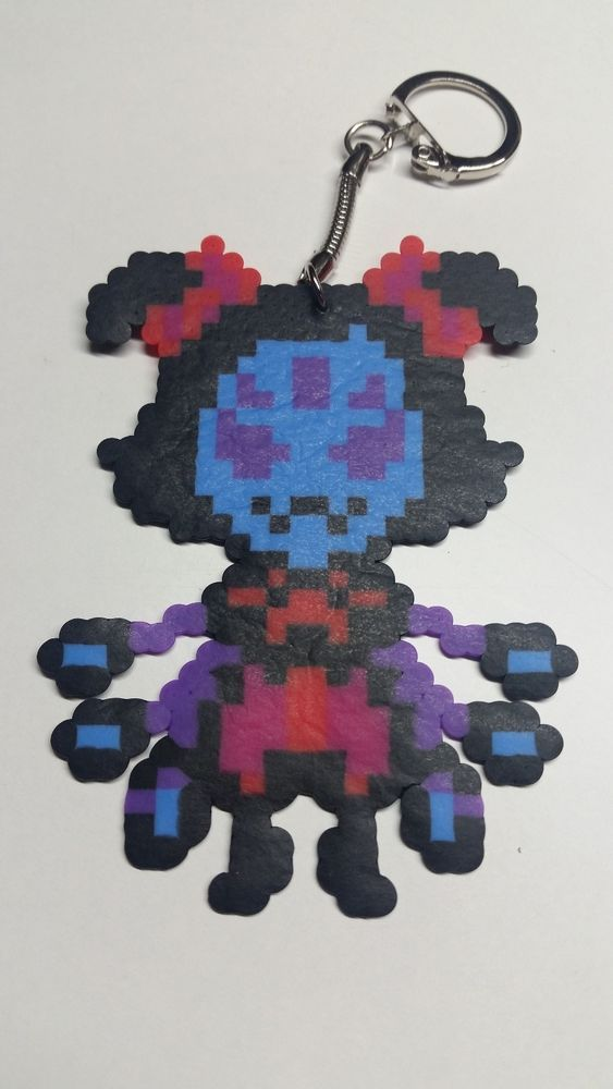 Muffet From Undertale Game Sprite Keychain