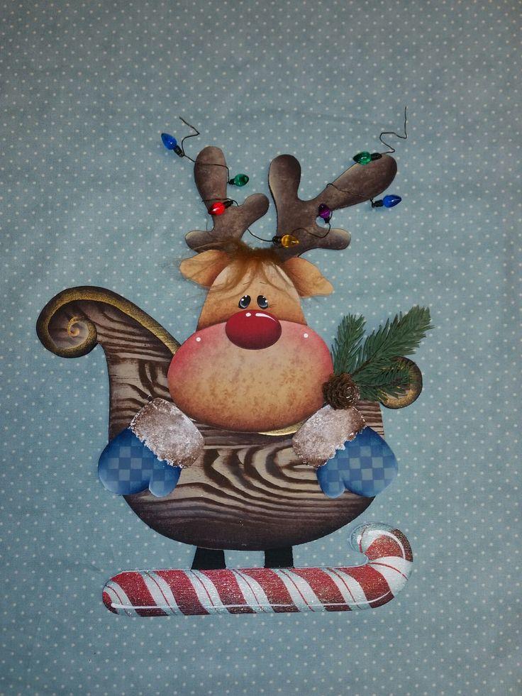 PATTERN: COMPANY FRIENDS: Kit renna | Erika Country Painting