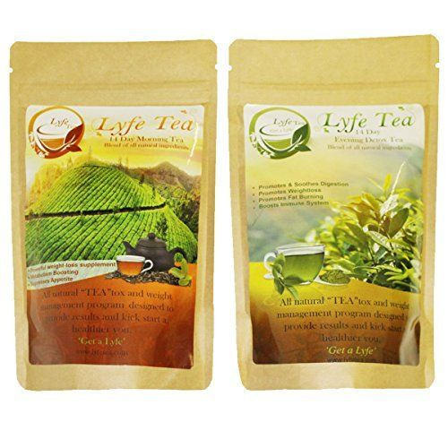Lyfe Tea 14 Day Teatox (1 Morning Tea and 1 Detox Tea) -- Want additional info? Click on the image.