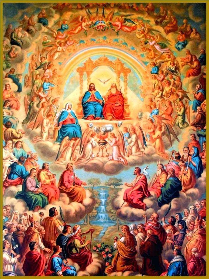 Oracion Y Letania De Los Santos Para Pedir Dinero Arte Católico Cordero De Dios Dia De Todos Los Santos