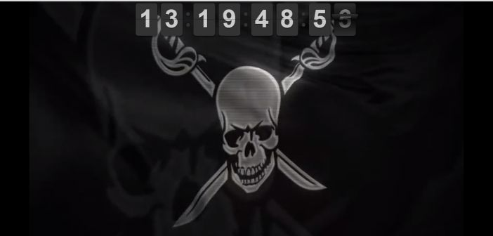The Pirate Bay website domain is back, waving a Pirate Flag