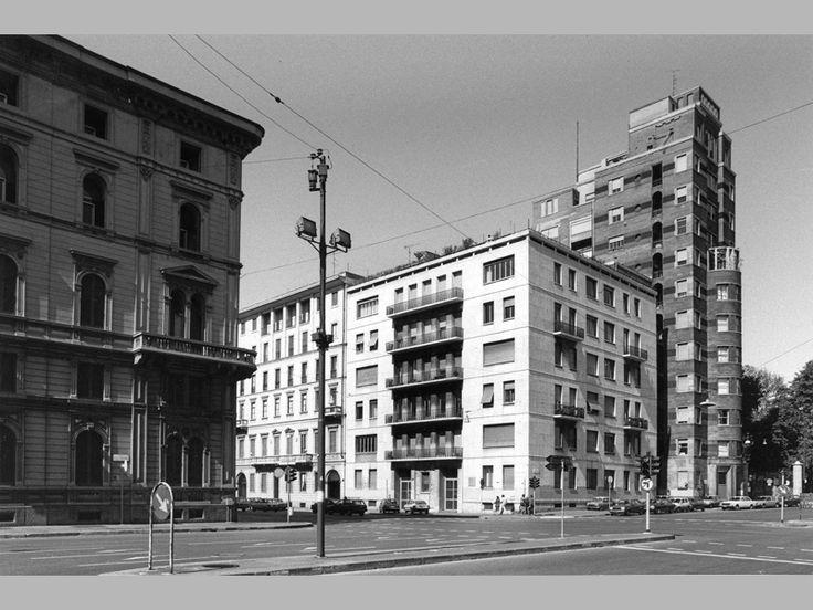 Casa e Torre Rasini - Gio Ponti - itinerari - Ordine degli architetti, P.P.C della provincia di Milano