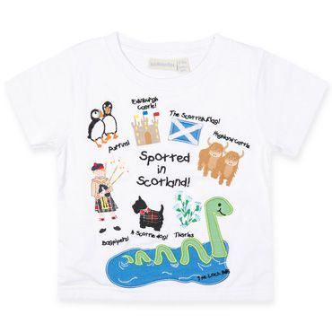 Spotted In Scotland T Shirt, Boys Tops and And Shirts, Boys Clothes, Girls and Boys
