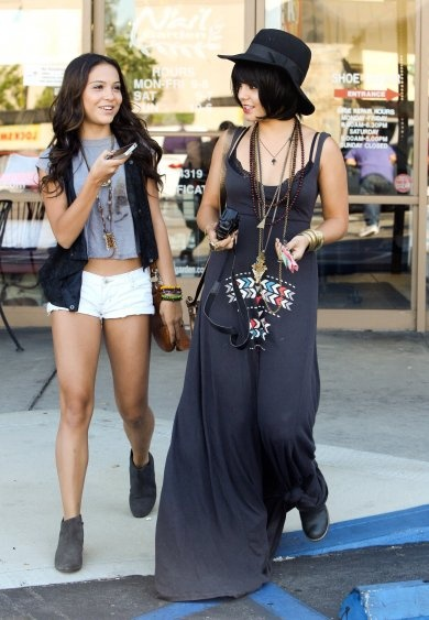 Vanessa Hudgens Fashion Style Outfits Polyvore Pinterest A Well For Her And Fashion Styles