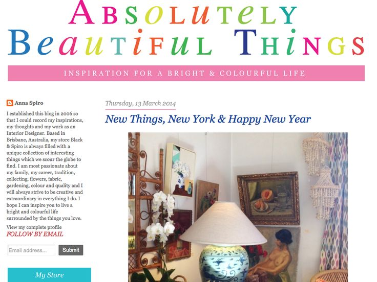 Bloglovin' Absolutely Beautiful Things - nooks & cranny