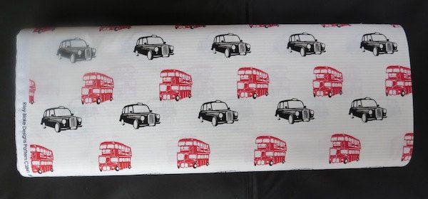 British Invasion by Riley Blake - British Taxi Cream by BlueBrit on Etsy https://www.etsy.com/listing/184069338/british-invasion-by-riley-blake-british