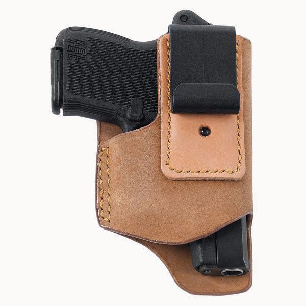 Designed for deep concealment of small autos in applications where discretion is the most important consideration the Push Up holster is named for its draw design.