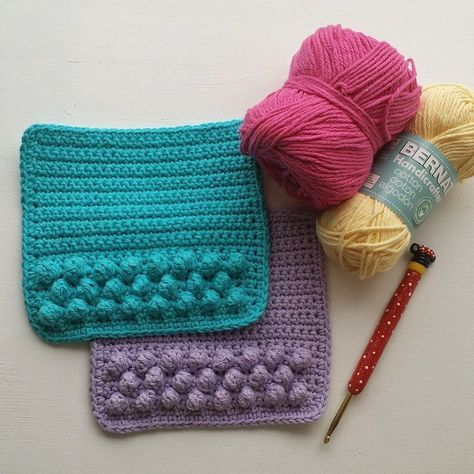 Crochet: Dishcloth Pattern ༺✿ƬⱤღ  https://www.pinterest.com/teretegui/✿༻