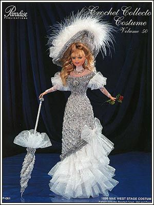 Barbie Crochet: Mae West Stage Costume - Pattern