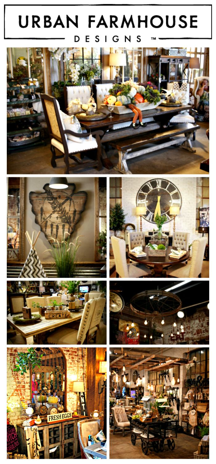 Urban Farmhouse Designs, OKC.  Most Amazing store in the country.  They make their furniture on-site.  You can watch them while they build!