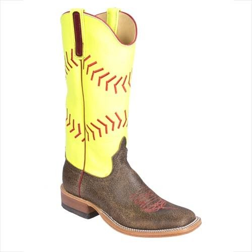 Anderson Bean Ladies Softball Boots from Teskey's.   Hahahaha I'm laughing a little bit... :) Softball & Rodeo. The greatest sports on dirt!