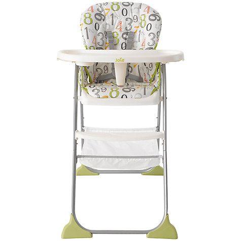 Buy Joie Baby Mimzy Snacker Highchair 123 Online at johnlewis.com