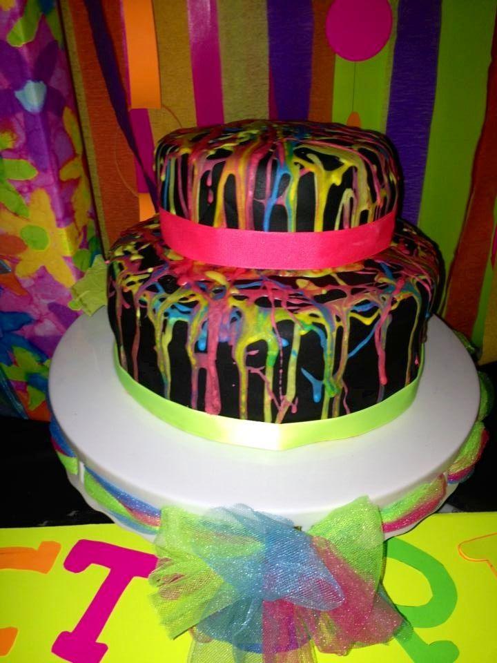 Splatter Cake Designs